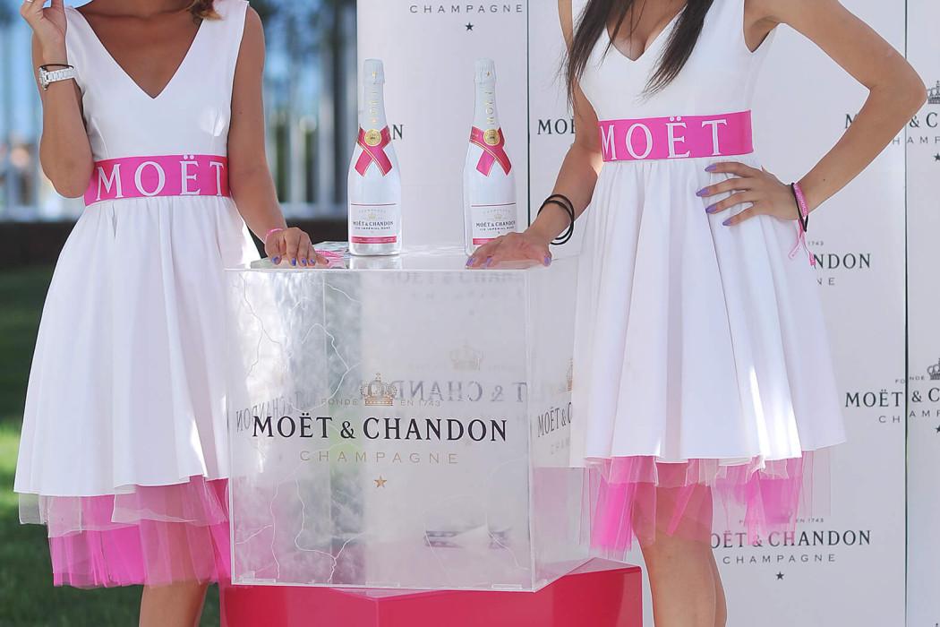Predstavljanje šampanjca Moët Ice Impérial Rosé _2