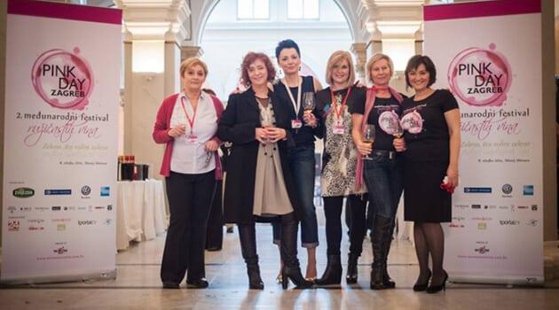 Zagreb i Hrvatska su na jedan dan i to na Dan žena bili obojani u ružičasto