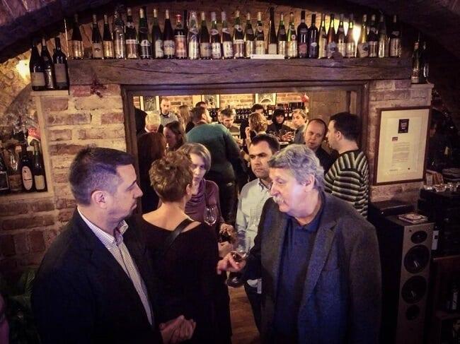 Wine Bars in Croatia Bornstein in Zagreb I