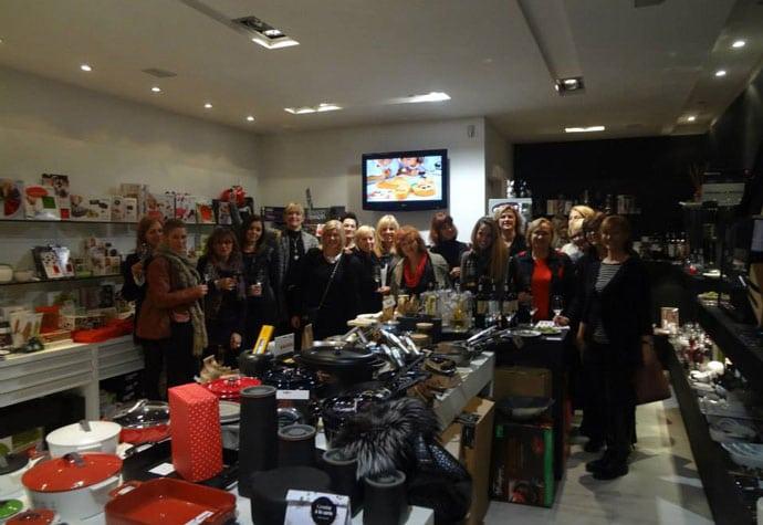 Predbožićno druženje u dućanu Sol i papar, uz francuska vina Lionel Osmin 6