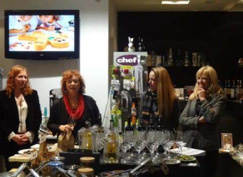 Predbožićno druženje u dućanu Sol i papar, uz francuska vina Lionel Osmin 2