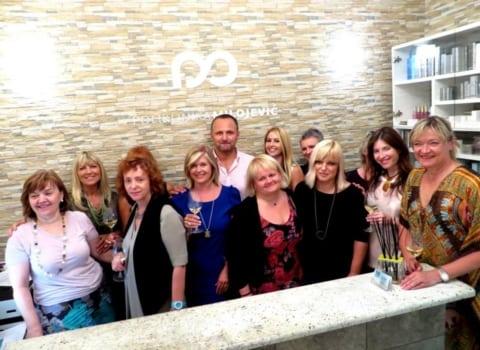 Naša grupna s dr. Milojević