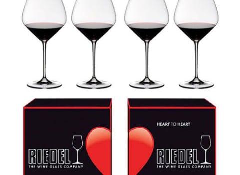 Priča o Ridel čašama Heart To Heart Pinot Noir Wine Glass
