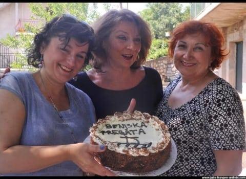 Slavljenička torta i Mirna Stjepčević