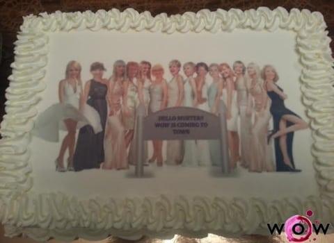 Torta sa slikom izletnica na Murteru u kući Gubić
