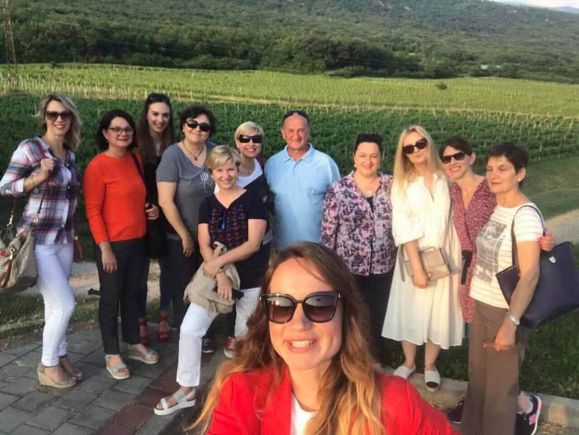 Primorsko – istarske WOW-ice posjetile vinariju Pavlomir 1