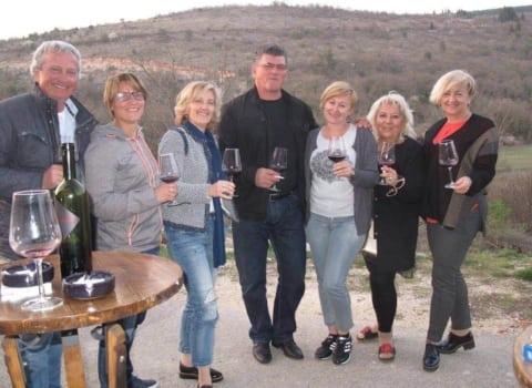 WOW-ice u obilasku imotskog vinogorja 6
