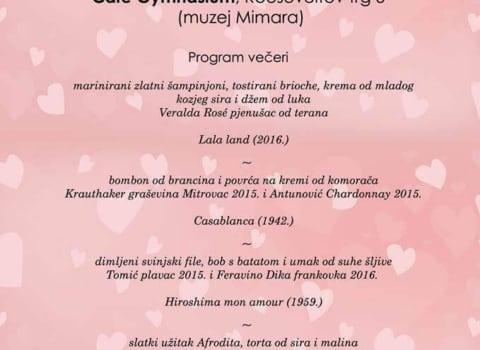 Ljubav je na prvom mjestu vino i kino, s ljubavlju 12